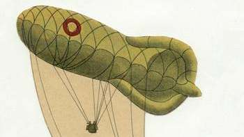 1930s Danish Observation Balloon