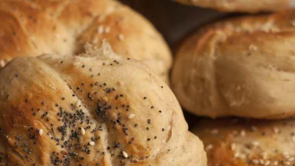 Fresh Bread Baps