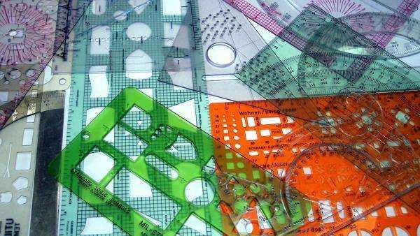 Coloured Set Squares